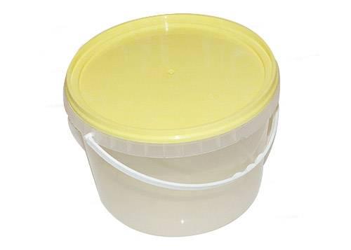 Герметичное пищевое пластиковое ведро, контейнер 3250мл.