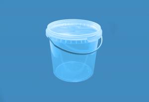Герметичное пищевое пластиковое ведро, контейнер 1000мл.
