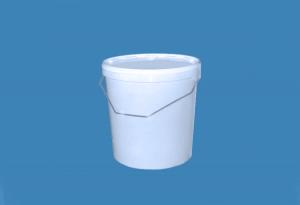 Герметичное пищевое пластиковое ведро, контейнер 20л.