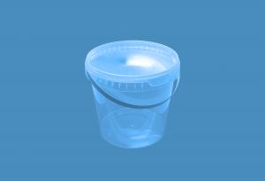 Герметичное пищевое пластиковое ведро, контейнер 3300мл.