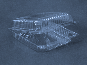 Неразъемный контейнер КН-155(830мл.)