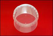 Герметичная пластиковая банка-контейнер 280 миллилитров