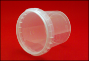 Герметичная пластиковая банка-контейнер 365 миллилитров