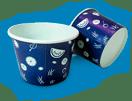 бумажные стаканы для мороженого, бумажные чаши под суп